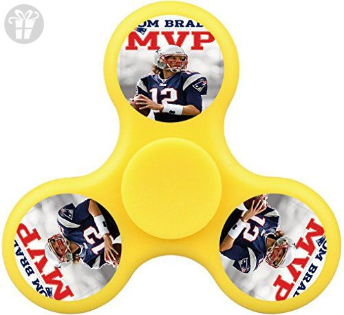 Lost 7er Tom Brady MVP 2017 Tri-Hands Fidget Spinner Toy Minimize Stress Helps Focus,Perfect for ADHD E ADD,Fashion Design and Images - Fidget spinner (*Amazon Partner-Link)