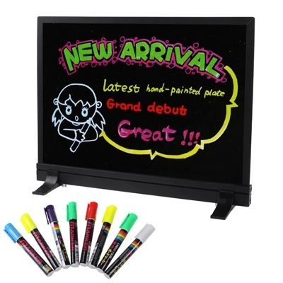 amazones gadgets WS Colorful LED Fluorescent Message Board with 8pcs Highlighter Pens, Size: 40 x: Bid: 8,41€ (£7.40) Buynow Price 8,41€…
