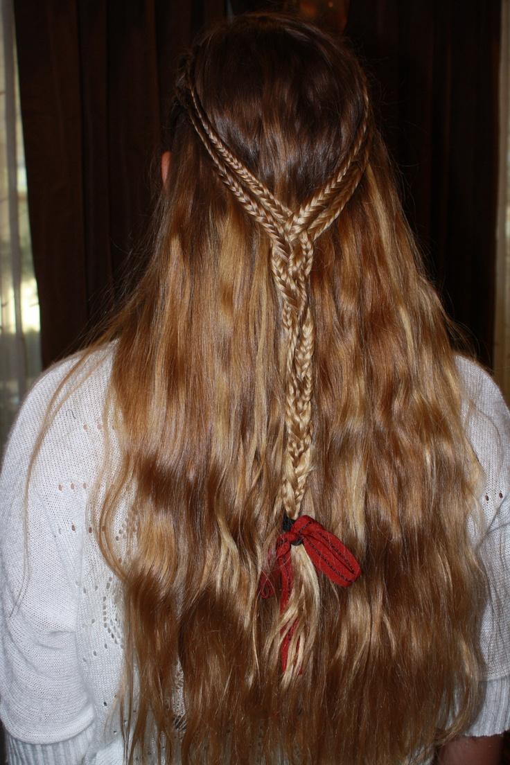 Fishtail braids, half-up <3: Fishtail Braids, Braids Mane
