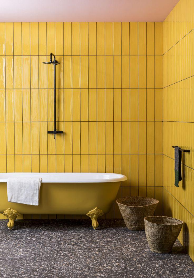 Terrazzo Nouveau Graphite Matt Porcelain in 2020 Yellow