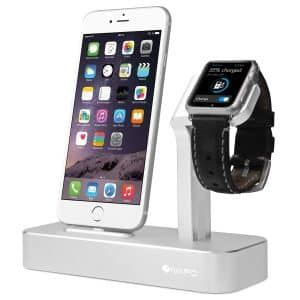 4. Ivapo Apple Watch And Phone Series Charging Dock