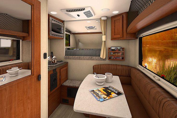 2017 Lance 650 Roadster interior, http://www.truckcampermagazine.com/news/2017-lance-camper-announcements/