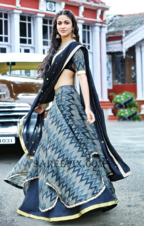 lavanya tripathi mister movie half saree