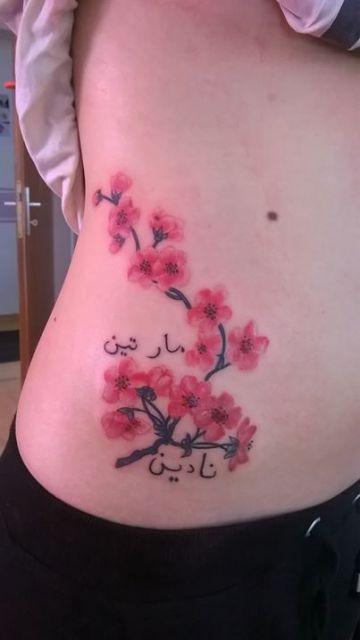 48 best tattoos r cken blumen watercolor images on pinterest art floral art flowers and