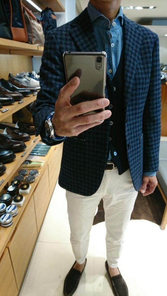 BEAMS fジャケット&サッソージレ購入   まぐブログ