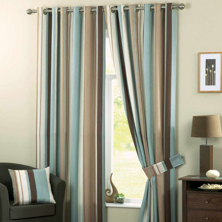 Duck Egg Blue Living Room Curtains