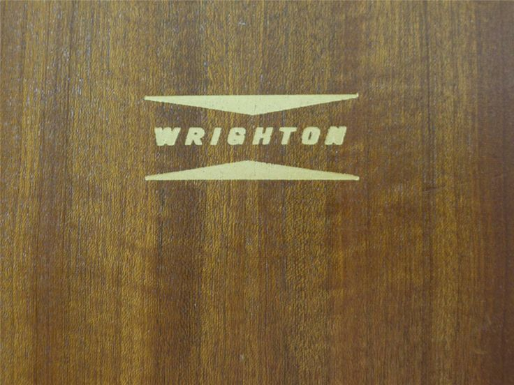 england furniture logo. wrighton vintage furniture label england logo
