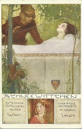 E. Schutz Fairy Tale. Snow white
