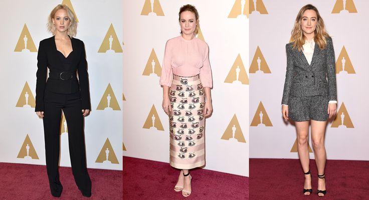 Almuerzo de los nominados al Oscar 2016 - http://www.bezzia.com/almuerzo-de-los-nominados-al-oscar-2016/