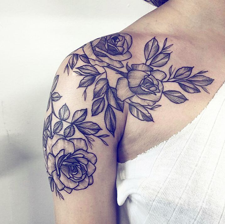 Tattoo Ideas For Women: Best 25+ Shoulder Tattoos For Women Ideas On Pinterest
