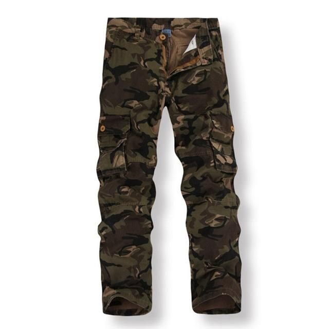 Males Tactical Navy Camouflage Trouser