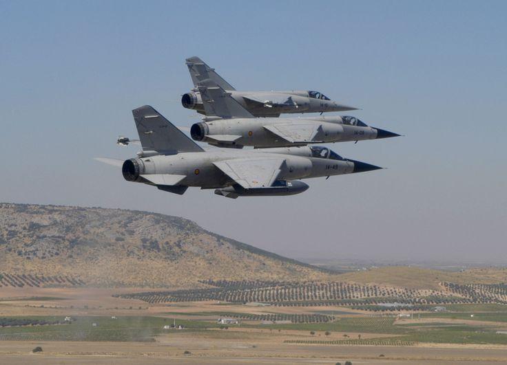 Spanish Mirage F-1.