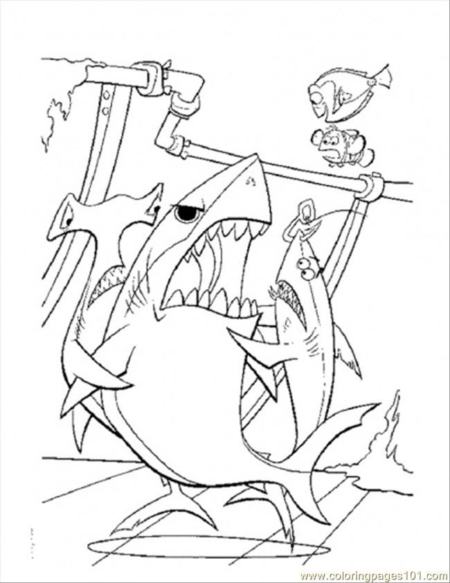nemo coloring pages images google - photo#19