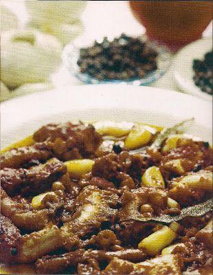 ΠΑΝ ΜΕΤΡΟΝ ΑΡΙΣΤΟΝ: Χταπόδι κρασάτο... Νηστίσιμα φαγητά με συνταγή Αγί...