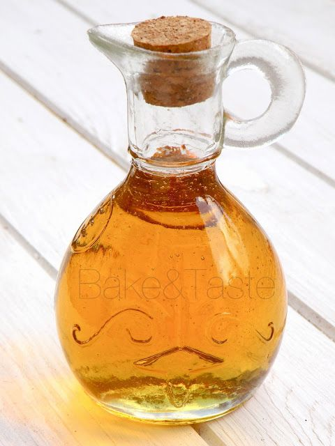 Domowy golden syrup - złoty syrop - Bake & Taste