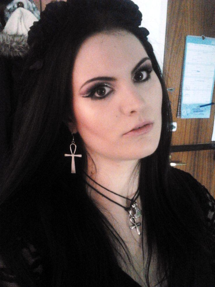 gothic makeup, nekromancica,