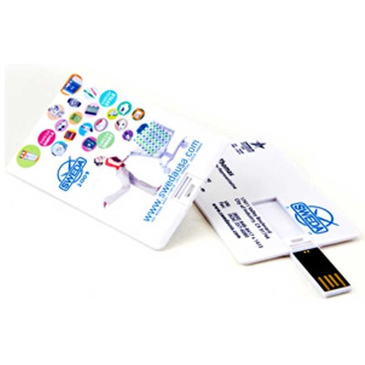 Credit Card Size USB Flash Drive - 4GB