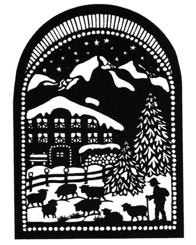 Esther Gerber — Shepherd in Winter  (642x800)