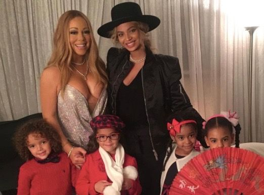 Blue Ivy And 'Dem Babies' Pose With Their Famous Moms at Mariah Carey Concert :http://www.eurweb.com/2016/12/blue-ivy-dem-babies-pose-famous-moms-mariah-carey-concert/