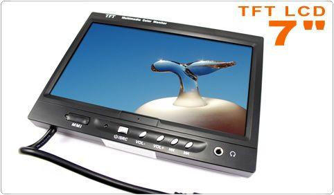 """Buenas tardes amig@s!! Destacamos nuestra #Pantalla 7"""" #TFT #LCD para #Reposacabezas o #Salpicadero diseñada para conectar a #reproductores de coche, car-PC, DVB-T, etc. Puede instalarse integrada en el reposacabezas o colocar en el salpicadero de su vehículo. Incluye soporte para el salpicadero, mando a distancia para el control de todas las funciones a través de infrarrojos, entrada jack para auriculares y conexión MMI para pad de juegos!"""