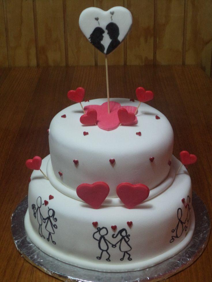 #wedding #love #cake- Creada por @VolovanProductos #Puq - Punta Arenas- Chile