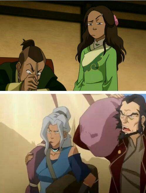 Kya definitely resembles her mother.