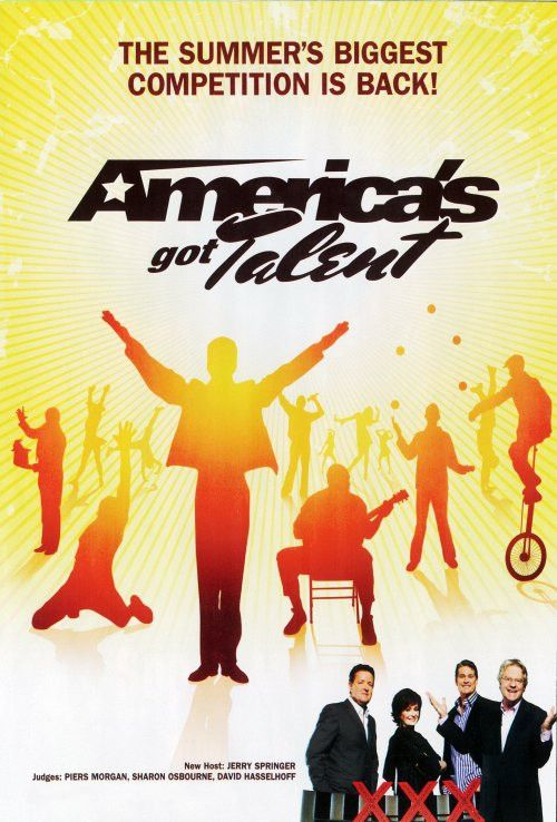 America's Got Talent 11x17 TV Poster (2006)
