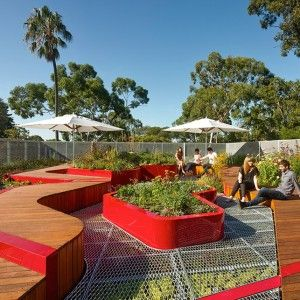 Landscape Architecture: HASSELL Project name: Burnley Living Roofs