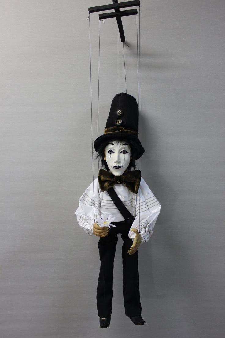 marioneta mimo títere puppet OOAK Art Doll marionette