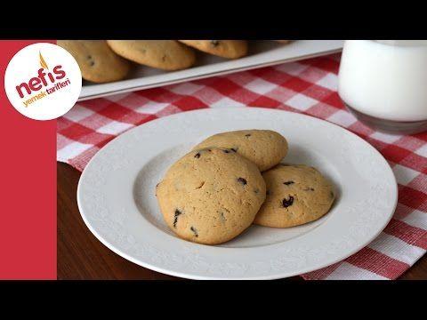 Amerikan Kurabiye Tarifi ( Soft Cookie) - YouTube