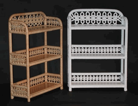 3 Tier Wall Shelf Via Wickerparadise Bathroom Wicker