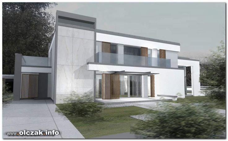 Architekt Maciej Olczak - projekt nowoczesnej willi
