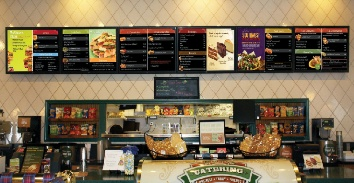 Digital menu board|QSR Signage