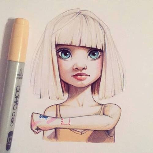 ️sia, art, and draw kép