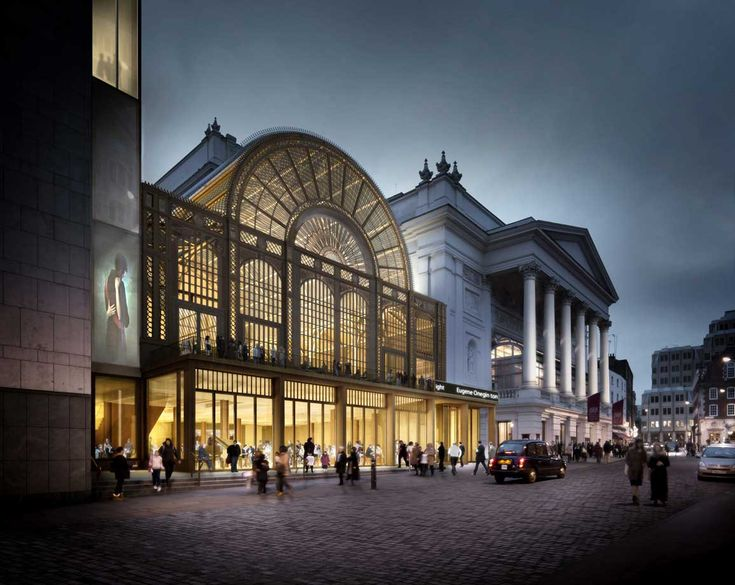 Forbes Massie / 3D Visualisation Studio / London - Work - Witherford Watson Mann / Royal Opera House