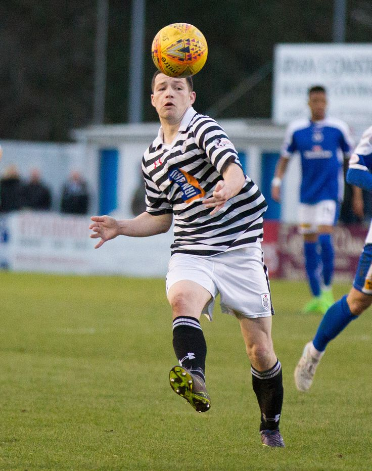 Queen's Park's Conor McVey in action during the SPFL League One game between Stranraer and Queen's Park.