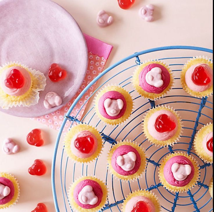 Percy Pig All Butter Cupcakes
