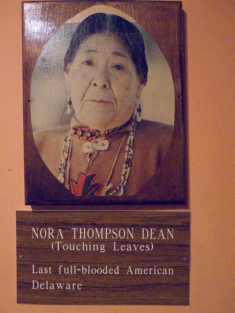 Pocono Indian Museum 067: http://www.nytimes.com/1984/12/04/obituaries/nora-t-dean-herbalist-77-of-delaware-indian-heritage.html
