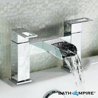 Modern Chrome Bath Mixer Tap   Everest - BathEmpire