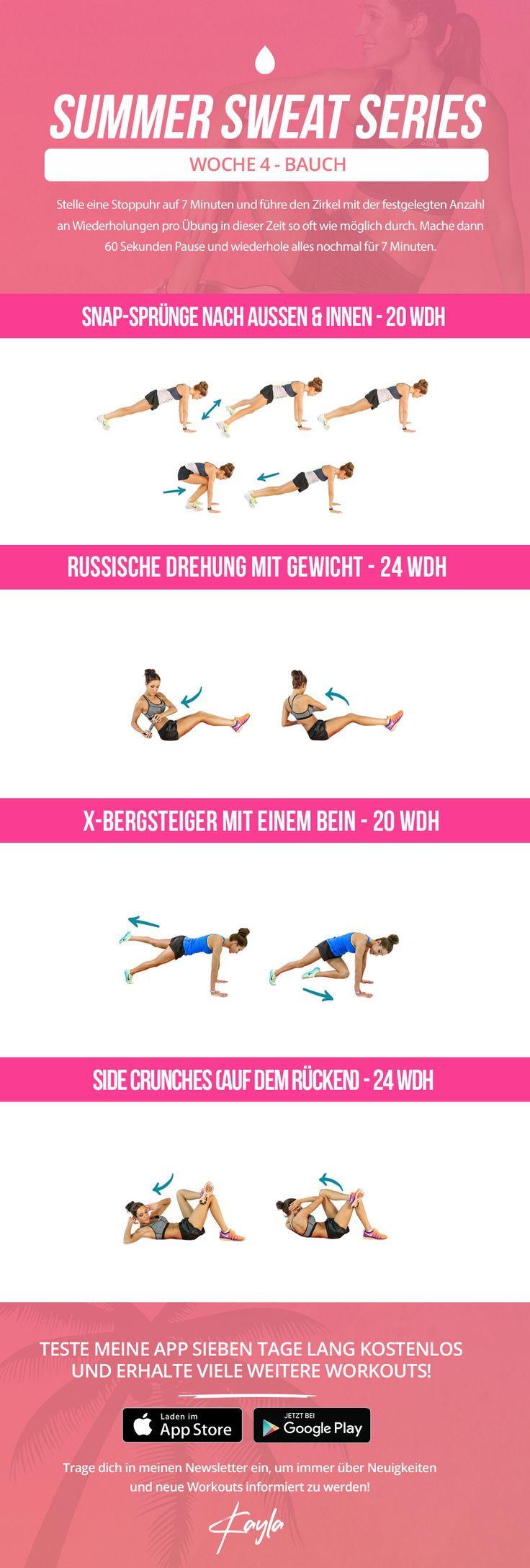 kayla itsines summer sweat series, summer sweat series friday week 4 , free kayla itsines workout