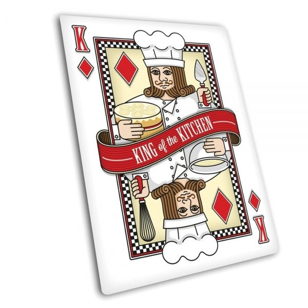 Tagliere Playing Card in vetro