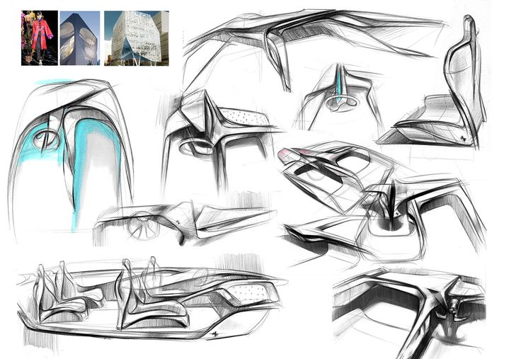 252 best sketching images on pinterest auto design for Interior design studium
