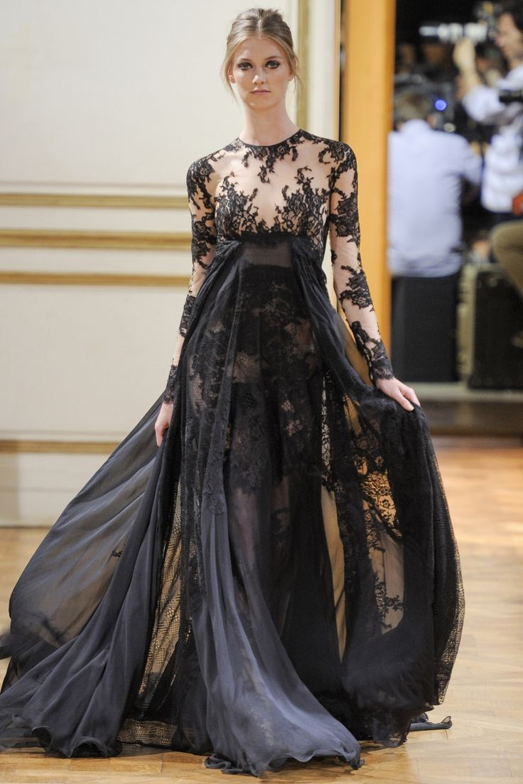 Zuhair Murad Fall/Winter 2013/14  -For some reason this makes me think of an orchid... and pasties ;)
