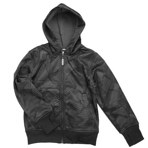 Buy Waterproof Kids' Active Stretch Wet-weather Jacket - Boys Black