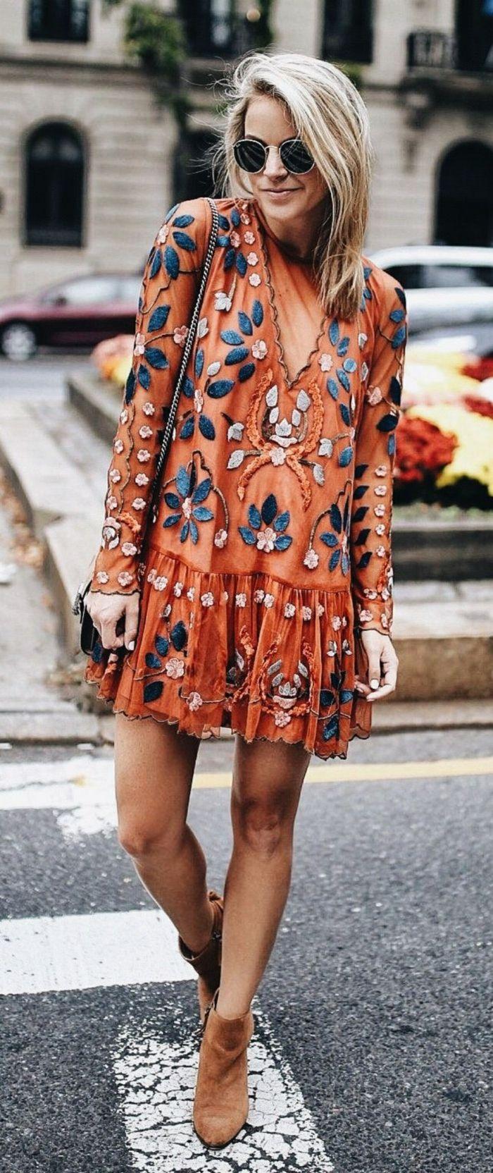 6ff819ac9 ▷ 1001 + ideas sobre diseños de vestidos boho chic | Dreamed Closet ...