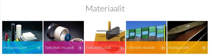 Muovimateriaaleja www.masterplast.fi - www.aikolon.fi