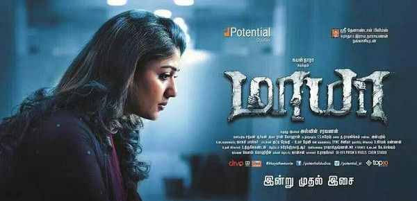 Maya (2015) Tamil Full Movie Watch Online DVDScr
