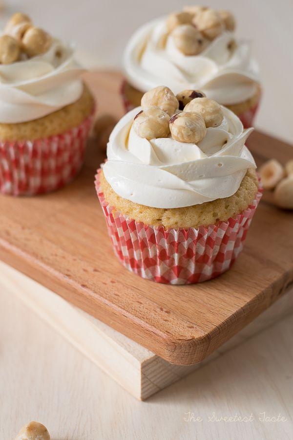 The Sweetest Taste: Cupcakes de avellana