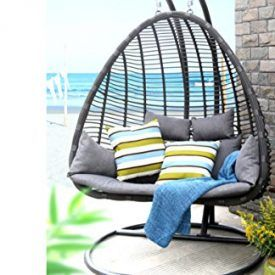 Baner Garden outdoor furniture presents resort-style hanging swings featuring premium PE rattan wicker. A powder-coated steel anchor, base and frame are included for secure freestanding suspension. The stainless steel chain is adjustable to the user's seat height preference. For an alternate option, the pod may also be installed into a reinforced roof or ceiling. The […]