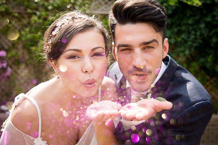Idées deco mariage rose doré et glitter l Photos 1Chapter Photography wedding planner Holden Bespoke l La Fiancée du Panda blog Mariage
